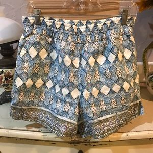 Anthropologie Shorts in blue Shades